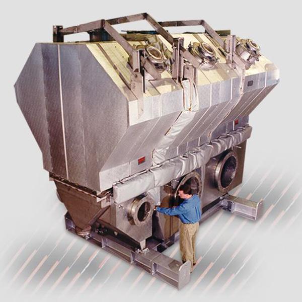 Secador de lecho fluido convencional Carrier