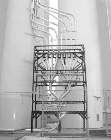 Conjunto de válvulas desviadoras Multi-Port en vertical - Vortex