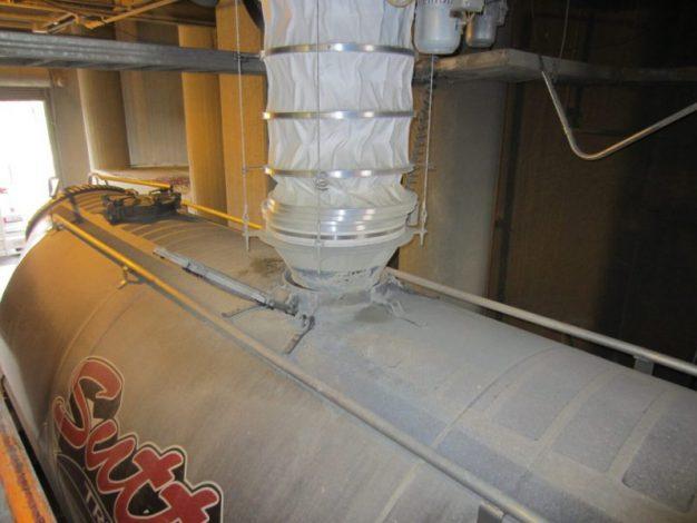 Cono adaptador a la boca de camión cisterna - Mangas telescópicas Vortex