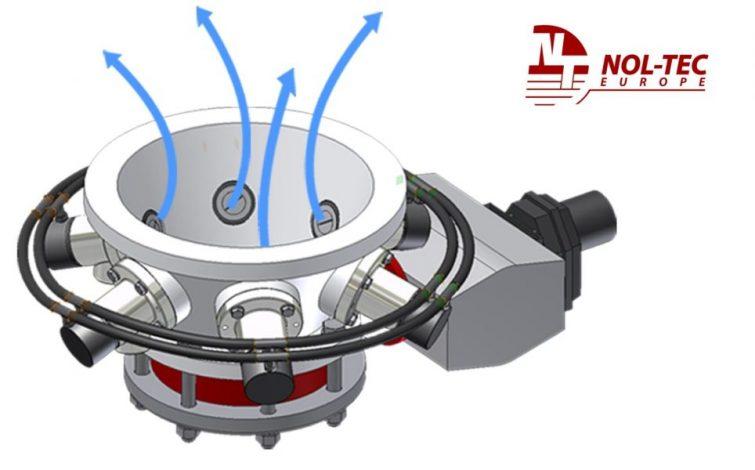 Detalle del cono mezclador - NTE Process