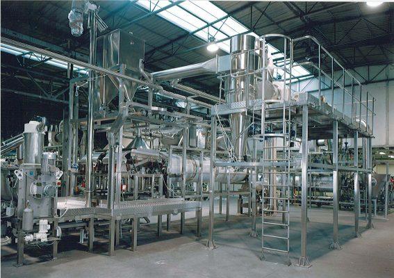 Instantaneizador para leche en polvo - ICF Welko
