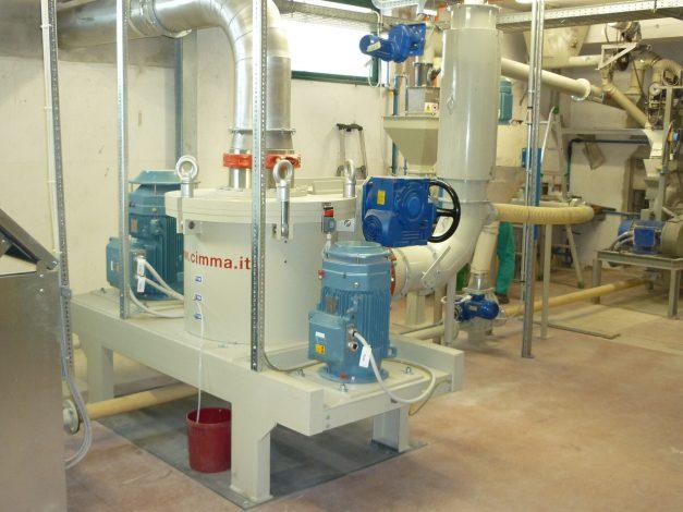 Molino PPS para agroquímicos - Cimma