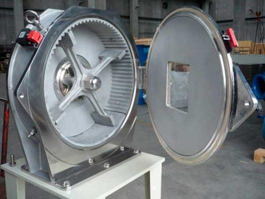 Molino X equipado con rotor tipo P - Cimma