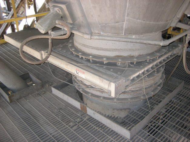 Válvula Roller Gate con doble cilindro - Vortex