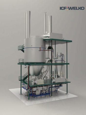 Spray Dryer 3D - ICF Welko