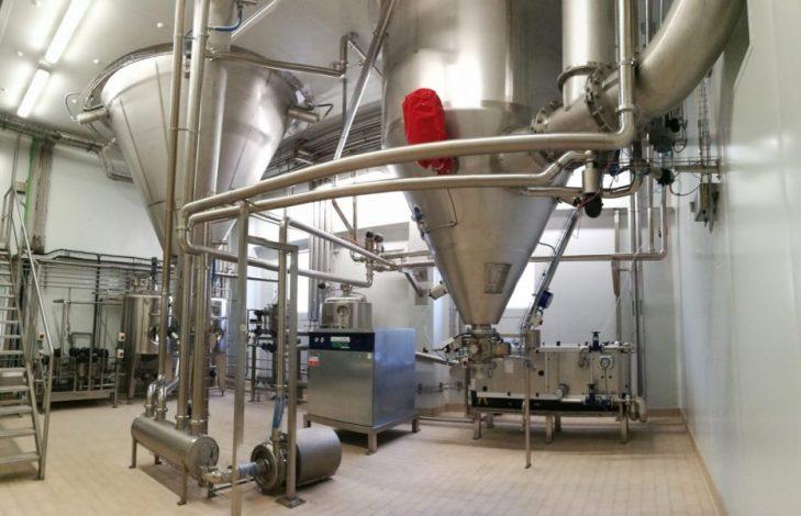 Spray dryer para colorantes alimentarios - ICF Welko