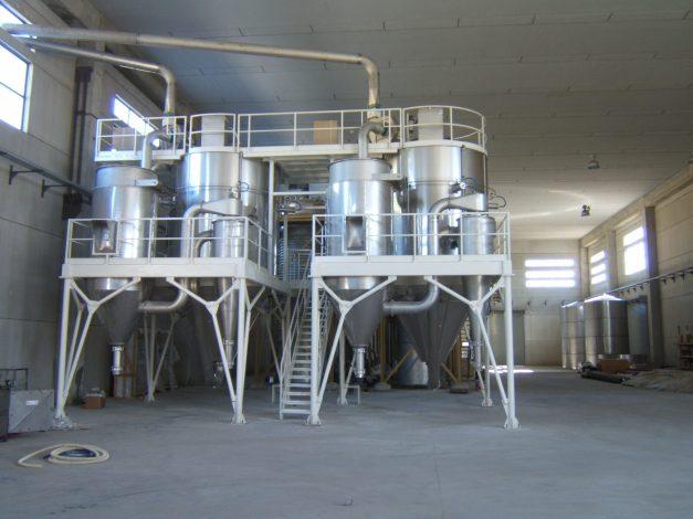 Spray dryer para suero proteinas - ICF Welko
