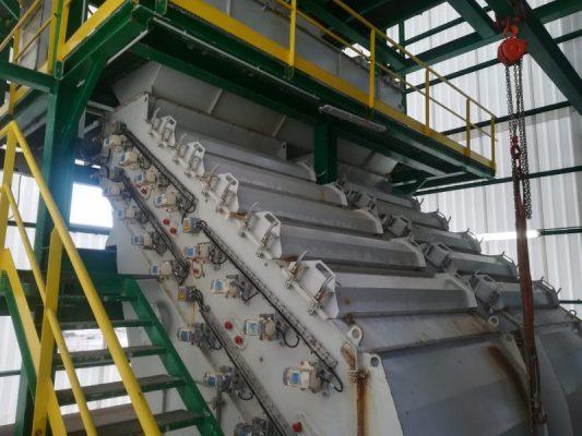 Tamizado de sal con criba DS - MPT Engineering