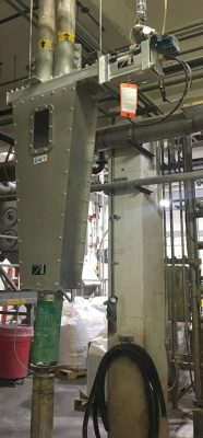 Valvula Flex Tube para granza de PP - Vortex