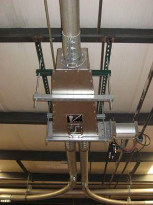 Valvula Flex Tube para granza de PVC - Vortex