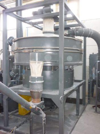 Criba para óxidos metalicos - Vibrowest