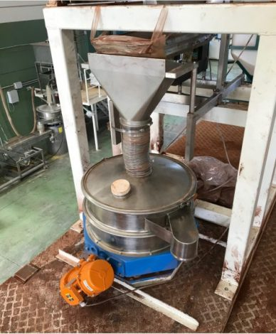 Tamizado de control para cacao - Vibrowest
