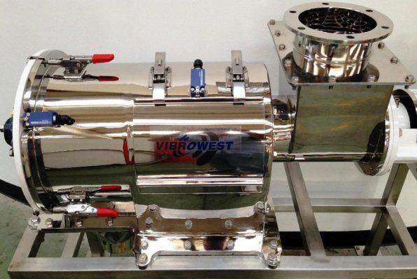 Tamizadora centrífuga Turbowest pulida a espejo - Vibrowest